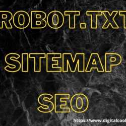 DigitalCookies focuses on robot.txt and sitemap in seo